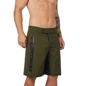 Forged olive MOD swimming board shorts 30